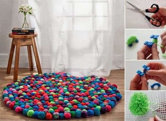 Diy Pebble Rug To Cozy Up Your Home • Recyclart