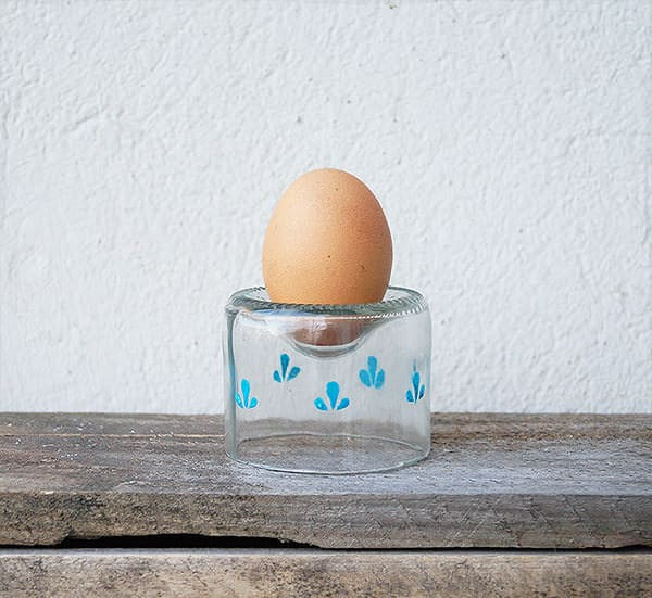 Bottle Eggcups Recycled Glass