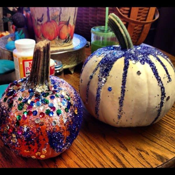 Last-minute Halloween Pumpkin Decoration Do-It-Yourself Ideas