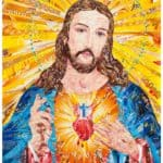 Sacred Heart - Up-cycled