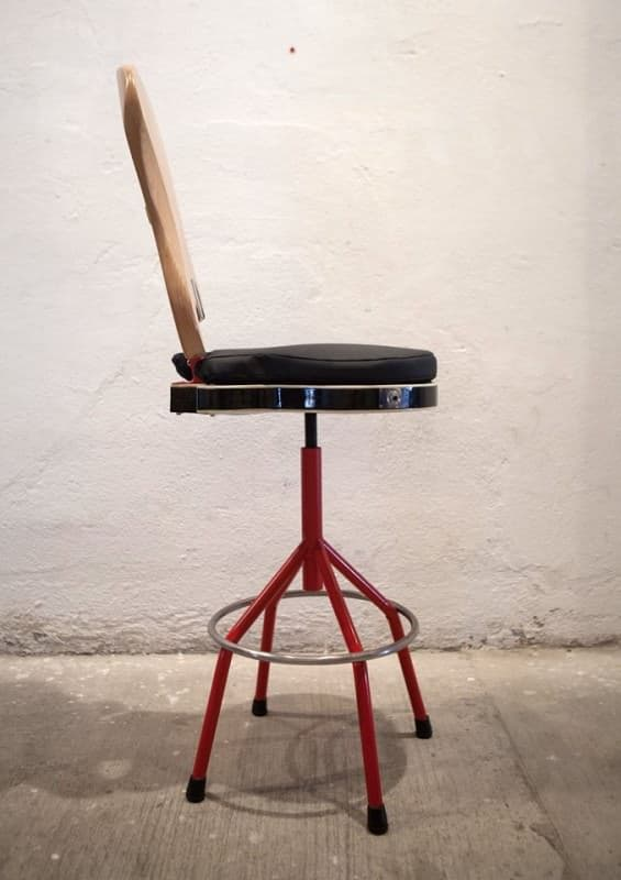 Guitar and Bass Chair Recycled Furniture