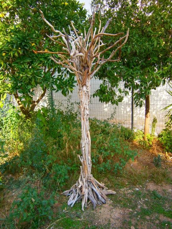 Handmade Driftwood Trees Wood & Organic