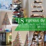 18 Ingenious DIY Christmas Trees