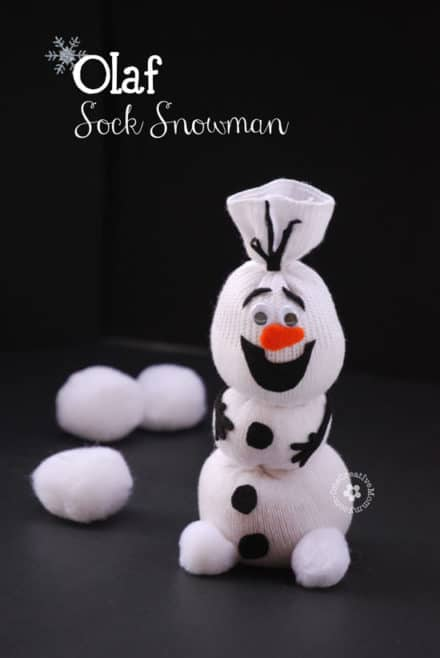 Diy Olaf Sock Snowman Tutorial