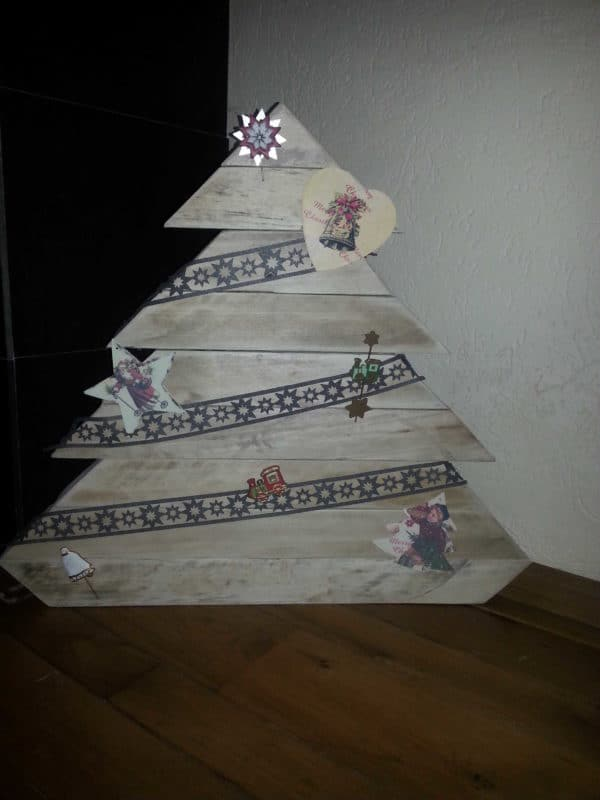 Christmas Trees From Repurposed Pallets Recycled Pallets