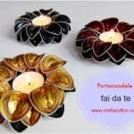 Diy: Candle Holders with Recycled Coffee Capsules