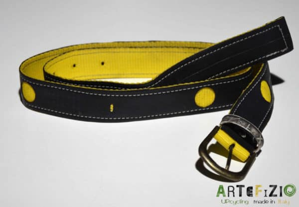 Giuseppe Minardi – Inner Tube Belt Accessories Recycled Rubber