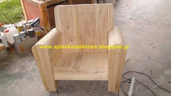 Pallet Chair No5 O Recyclart