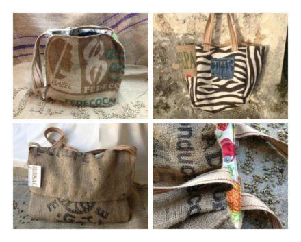 Nice Coffee Sac: Bags Made from Upcycled Coffee Sacs