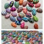 Painted Pistachio Shells