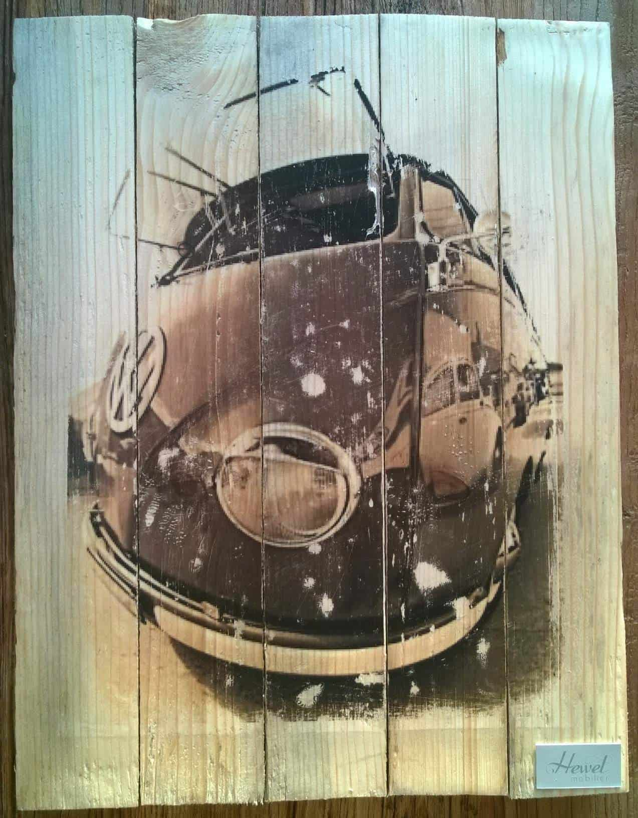 Pallet as Wall Picture • Recyclart