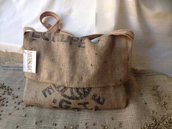 Nice Coffee Sac: Bags Made from Upcycled Coffee Sacs Accessories