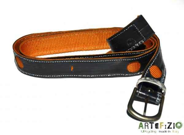 Giuseppe Minardi - Inner Tube Belt Accessories Recycled Rubber