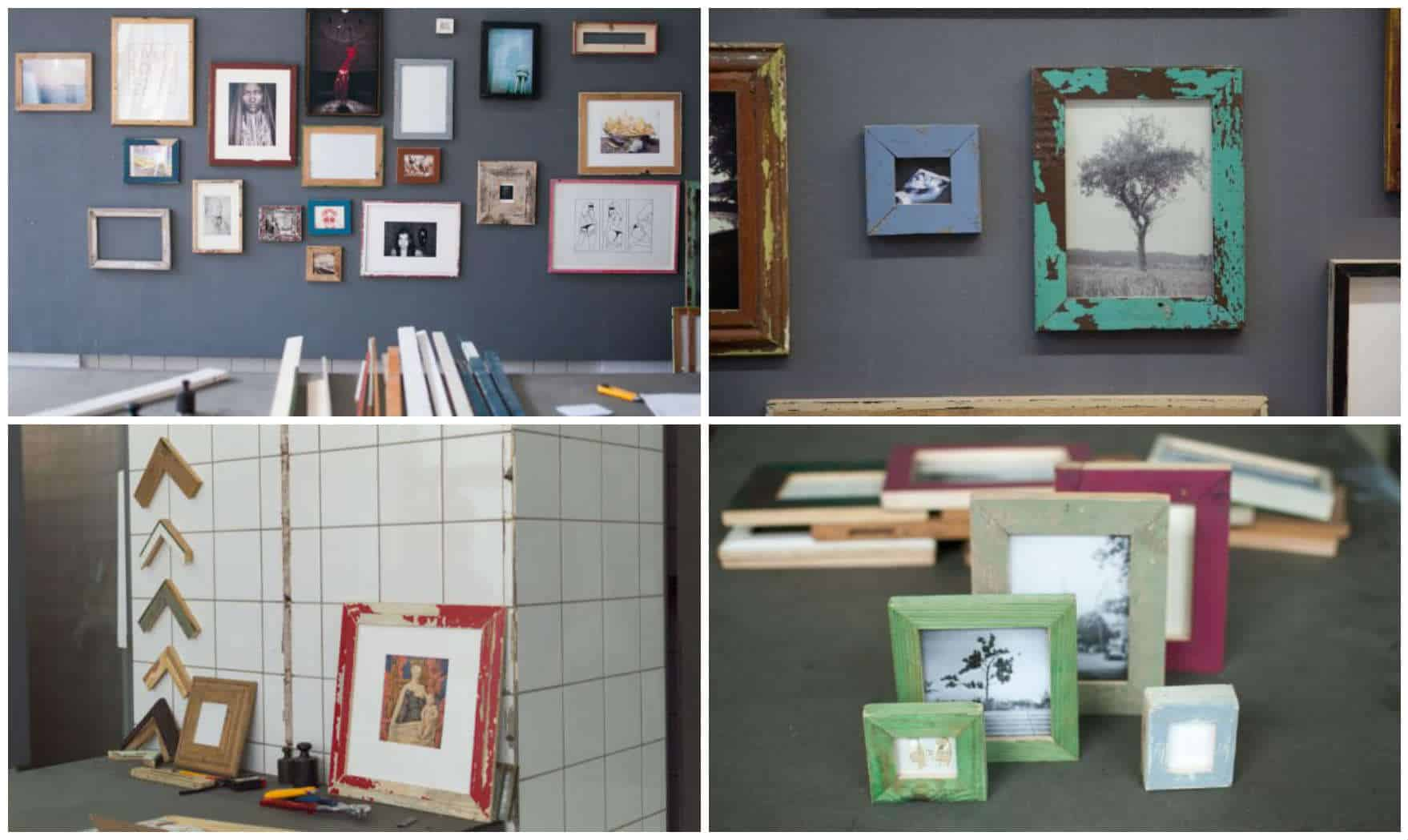 Picture Frames Made From Recycled Materials • Recyclart
