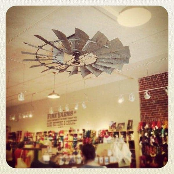 Vintage Recyclart as • Repurposed Decor Wings Windmill a