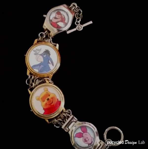 Upcycled Watches – Picture Charm Bracelet Tutorial Upcycled Jewelry Ideas