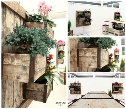 Furniture with Roof Garden by Redolab