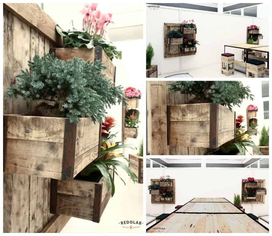 Furniture with Roof Garden by Redolab • Recyclart