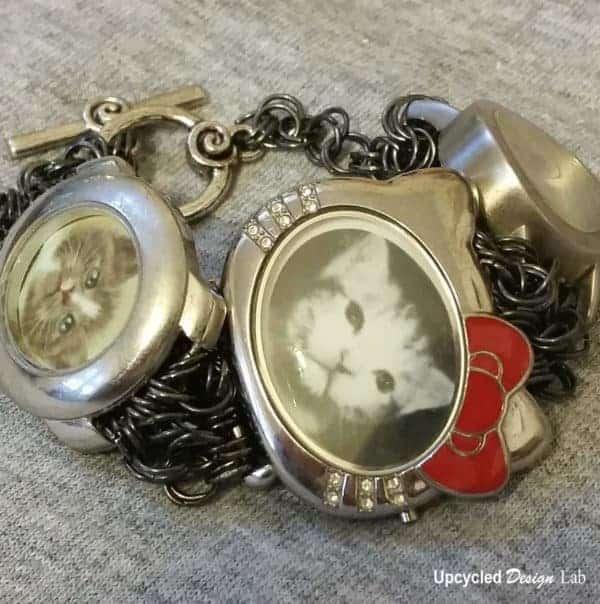 Charm Bracelet Watches: Picture Charm Bracelet Tutorial • Recyclart