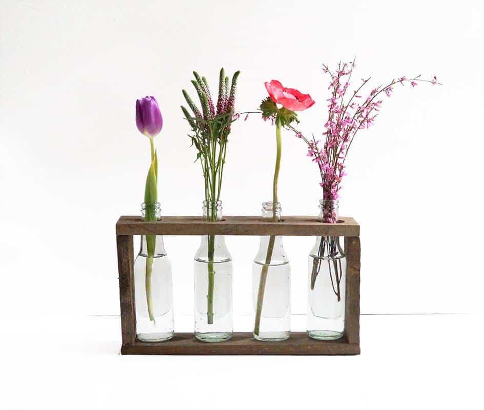 Bottle Vase Holder • Recyclart