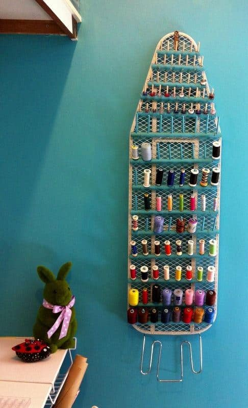 Repurposed Ironing Board for Your Craft Room Do-It-Yourself Ideas