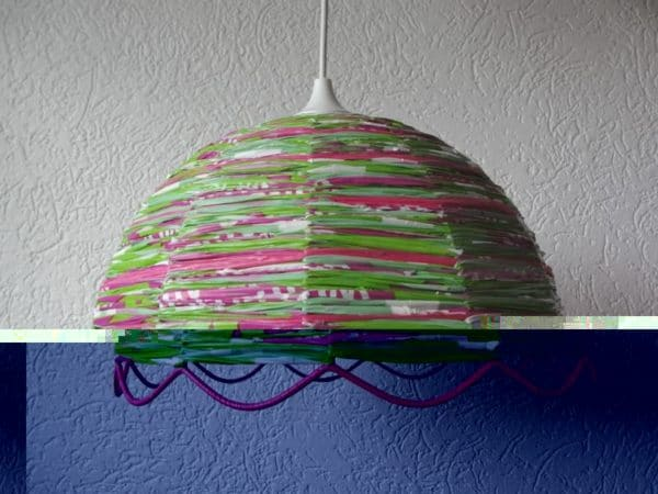 Lampshades Made From Recycled Plastic Bags Lamps & Lights Recycled Plastic
