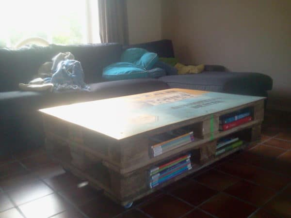 Pallet Coffee Table Recycled Pallets