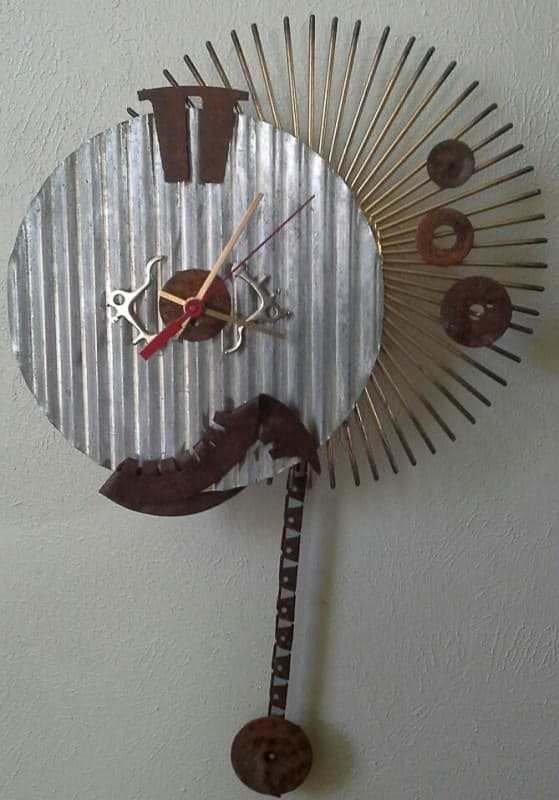 Recycled Clocks Accessories Recycled Art