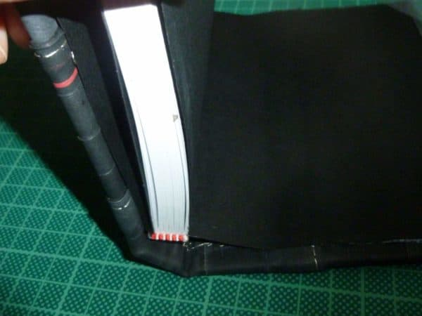 Bookbinding With Recycled Bicycle Tube Do-It-Yourself Ideas Upcycled Bicycle Parts