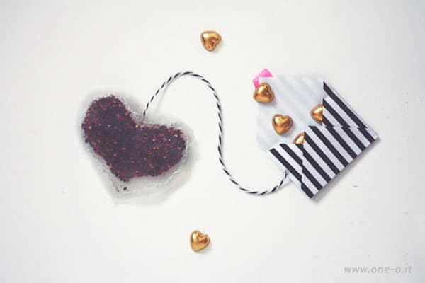 Diy Heart Tea Bags + Envelope Do-It-Yourself Ideas