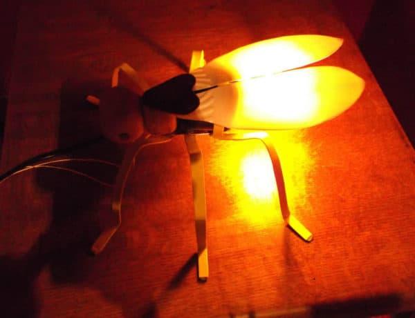 Firefly Lamp Recyclart