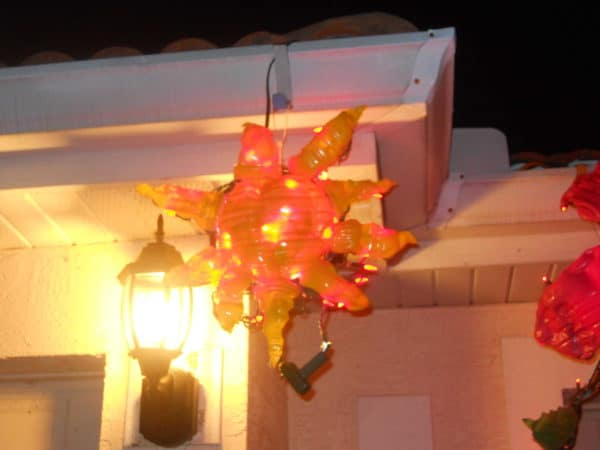 Eco Friendly Sunburst with Led Lights Lamps & Lights