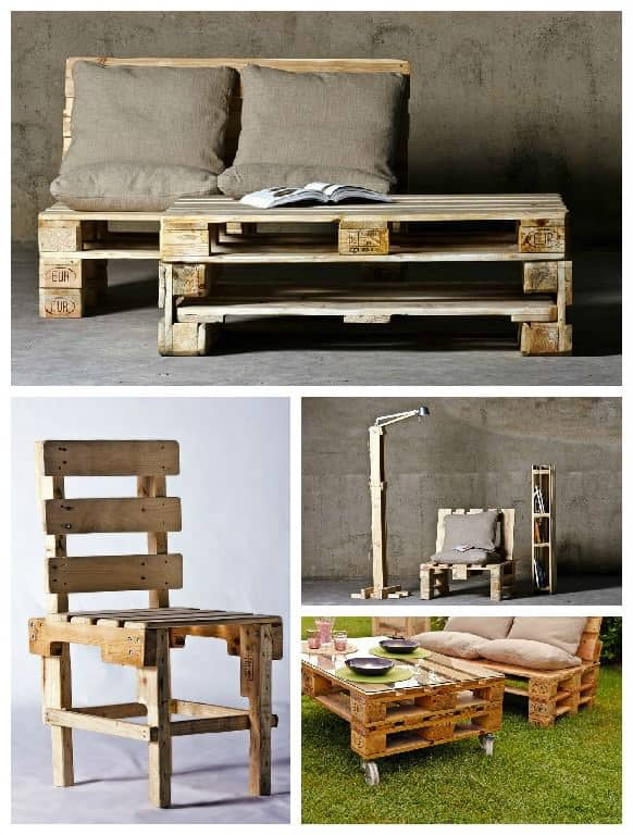 Upcycled Pallet Furniture • Recyclart