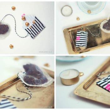 DIY Heart Tea Bags + Envelope
