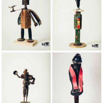 Upcycled Sculptures by Michał Wawrzyniak