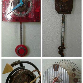 Recycled Clocks