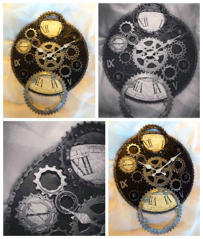Upcycled Bike Parts Into Industrial Clock • Recyclart