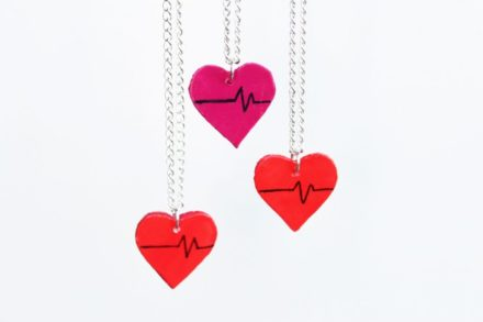 Diy: Upcycled Heart Charms
