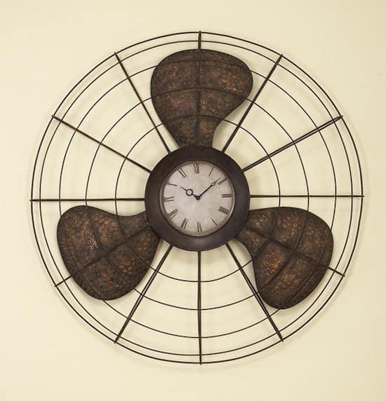 Old Fan Wall Clock Accessories