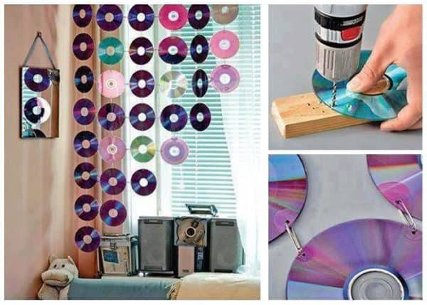 Ideias Simples Para Reciclar Cds Velhos Do-It-Yourself Ideas Recycled Electronic Waste