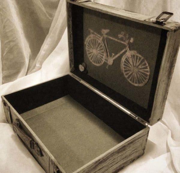 Decorative Wooden Keepsake Box Accessories Wood & Organic