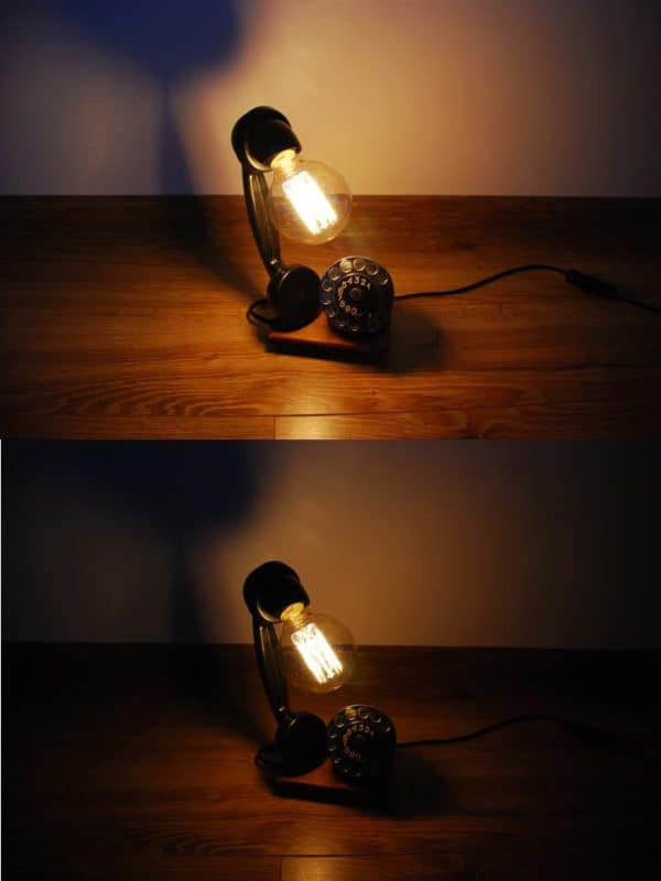 Upcycled Phone Into Lamp Lamps & Lights Recycled Electronic Waste