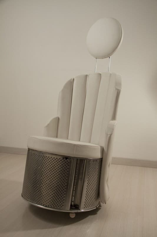 Stylish Washing Machine Drum Armchair Recycled Furniture