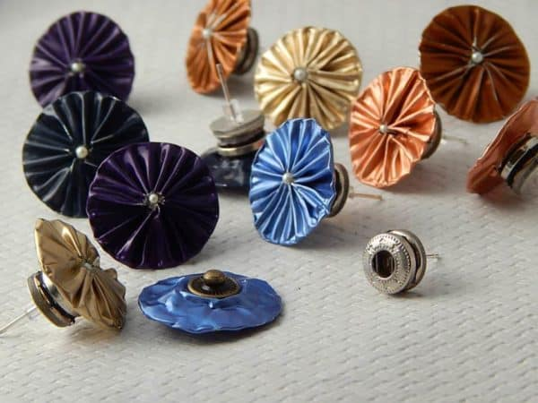 Cafetito: Jewelry Made Of Upcycled Nespresso Coffee Capsules Upcycled Jewelry Ideas