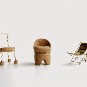 Single Champagne Cork Miniature Chairs DWR Contest