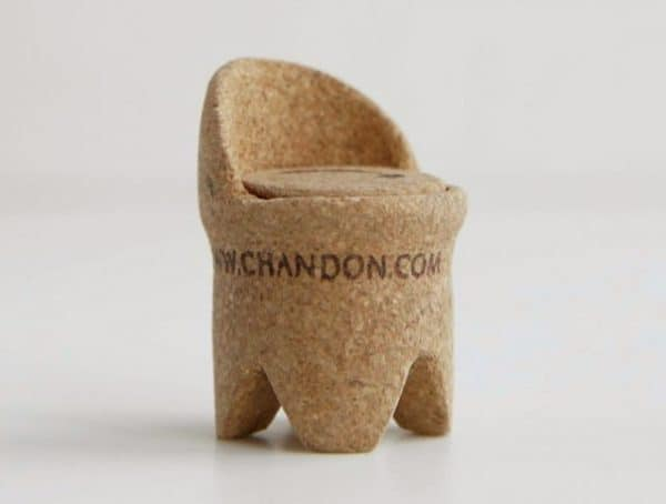 Single Champagne Cork Miniature Chairs Dwr Contest Recycled Cork