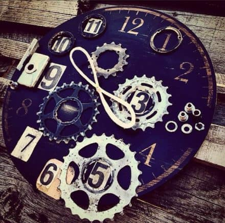 Eternal Now Bike Enthusiast Clock
