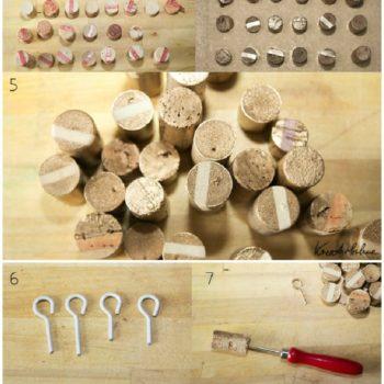 DIY: Upcycled Corks Key Rack
