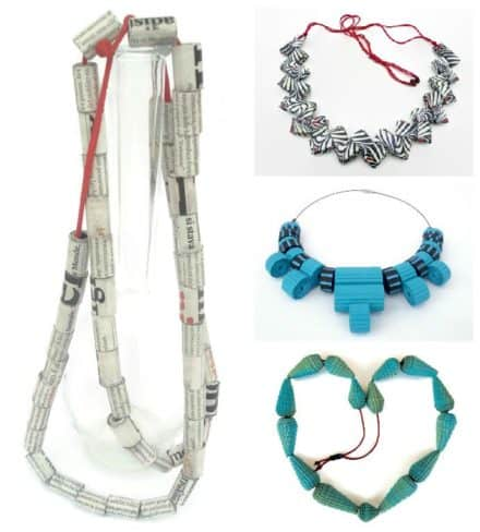 Playful Jewelry with a Fairly Classic Line Focused on Eco-friendly and Natural Materials