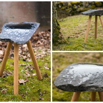 DIY: From Stone To Stool